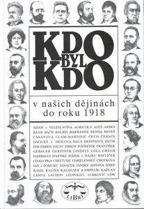 Obrázok Kdo byl kdo v našich dějinách do roku 1918