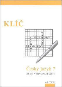 Obrázok Klíč Český jazyk 7 III. díl Pracovní sešit