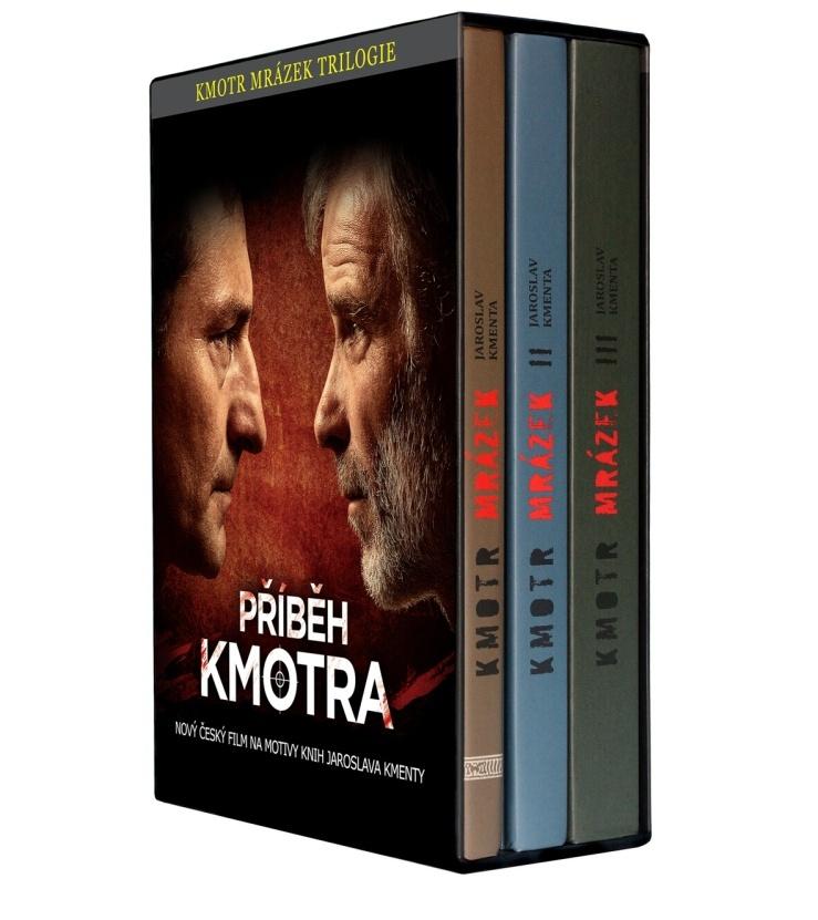 Kmotr Mrázek Trilogie (Komplet 1.-3. dílu) - Jaroslav Kmenta