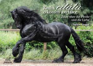 Obrázok Kniha citátů o koních a o lásce