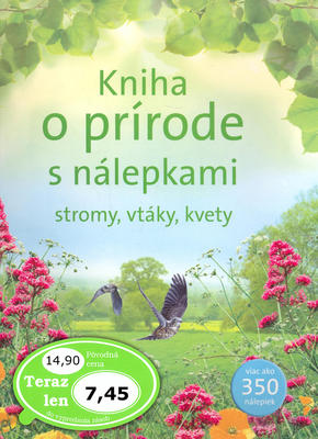 Obrázok Kniha o prírode s nálepkami