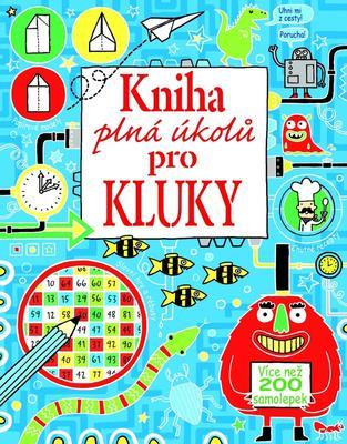 Obrázok Kniha plná úkolů pro kluky