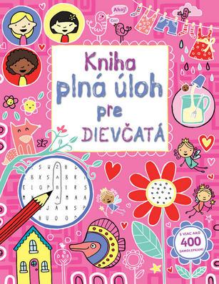 Obrázok Kniha plná úloh pre dievčatá