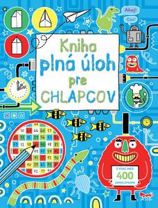 Obrázok Kniha plná úloh pre chlapcov