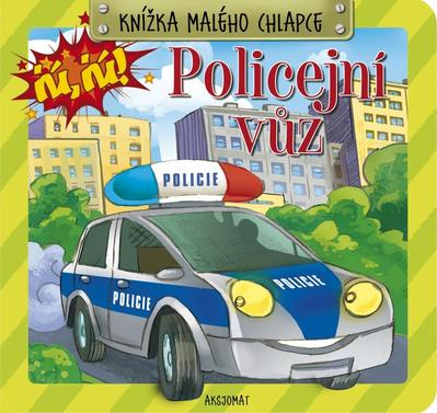 Obrázok Knížka malého chlapce Policejní vůz
