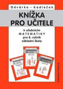 Obrázok Knížka pro učitele k učebnicím matematiky pro 8.r.ZŠ