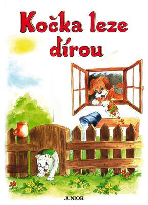 Obrázok Kočka leze dírou