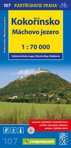 Obrázok Kokořínsko, Máchovo jezero 1:70 000