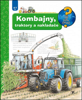 Obrázok Kombajny, traktory a nakladače
