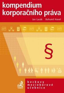 Obrázok Kompendium korporačního práva