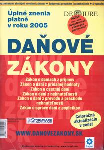 Obrázok Komplet 2ks  Daňové Zákony 2004+Daňové Zákony 2005