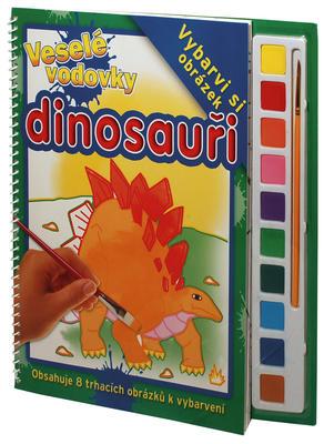 Obrázok Komplet 2ks Veselé vodovky Koníci + Dinosauři