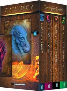 Obrázok Komplet 4 ks Zlatá edícia Eragon, Eldest, Brisingr, Inheritance