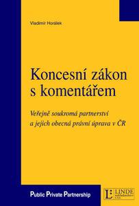 Obrázok Koncesní zákon s komentářem