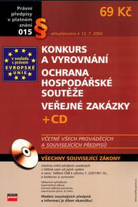 Obrázok Konkurs a vyrovnání Ochrana hospodářské soutěže Veřejné zakázky