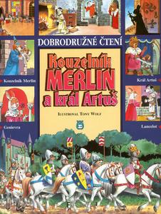 Obrázok Kouzelník Merlin a král Artuš