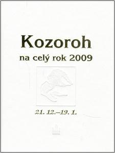Obrázok Kozoroh na celý rok 2009
