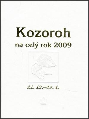 Kozoroh na celý rok 2009