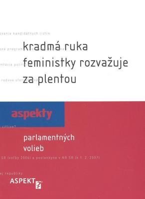 Obrázok Kradmá ruka feministky rozvažuje za plentou