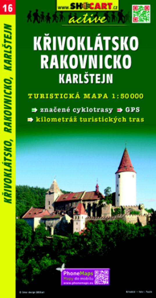 Křivoklátsko, Rakovnicko, Karlštejn 1:50 000
