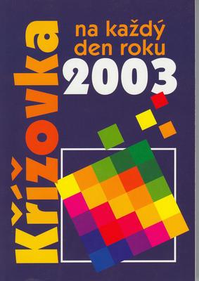 Obrázok Křížovka na každý den roku 2003