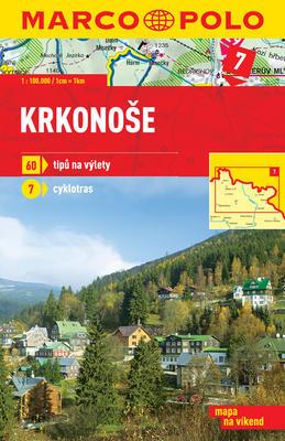 Obrázok Krkonoše 1:100 000