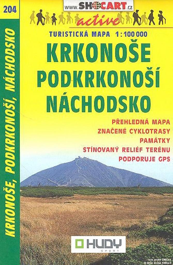 Krkonoše, Podkrkonoší, Náchodsko 1:100 000