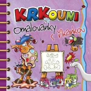 Obrázok Krkouní omalovánky s říkankou - omalovánka