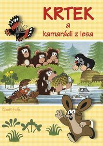 Obrázok Krtek a kamarádi z lesa - omalovánka