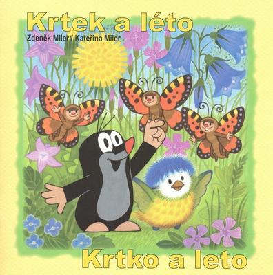 Obrázok Krtek a léto - omalovánka