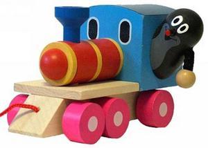 Obrázok Krtek a mašinka