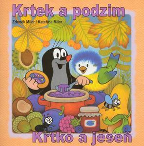 Obrázok Krtek a podzim - omalovánka