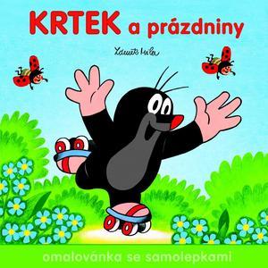 Obrázok Krtek a prázdniny - omalovánka