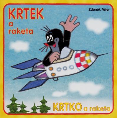 Obrázok Krtek a raketa - omalovánka