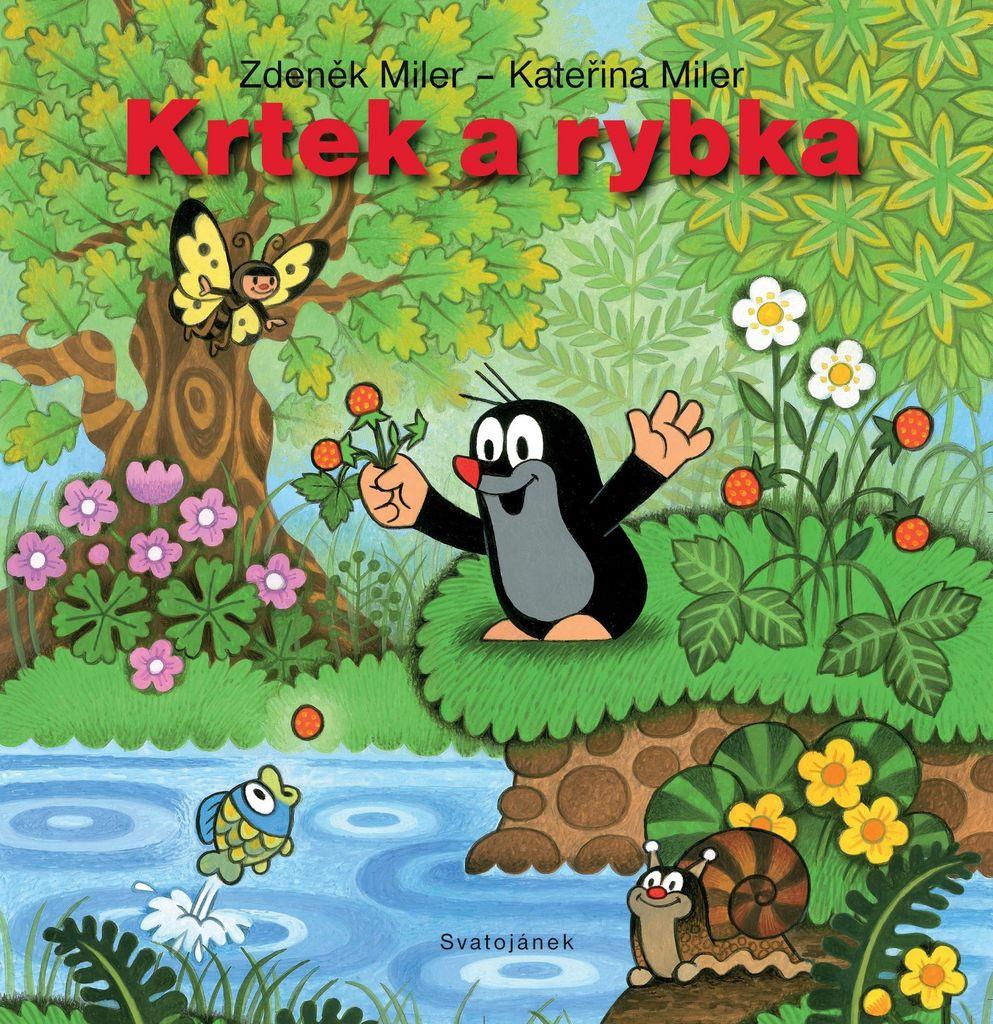 Krtek a rybka - Zdeněk Miler, Kateřina Milerová