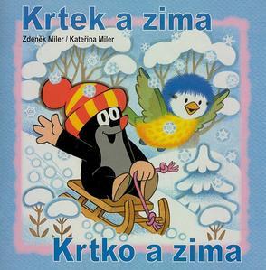 Obrázok Krtek a zima - omalovánka