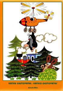 Obrázok Krtek cestovatel - omalovánka