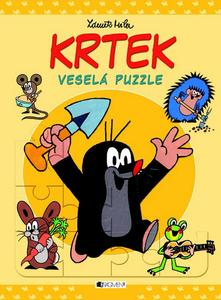 Obrázok Krtek veselá puzzle