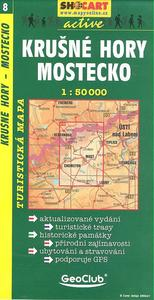 Obrázok Krušné hory, Mostecko 1:50 000
