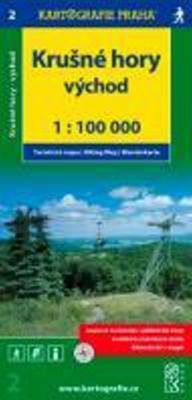 Obrázok Krušné hory - východ 1:100 000