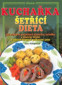 Obrázok Kuchařka Šetřící dieta