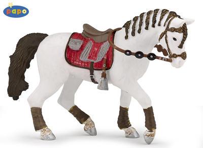 Obrázok Kůň jezdecký s copánky