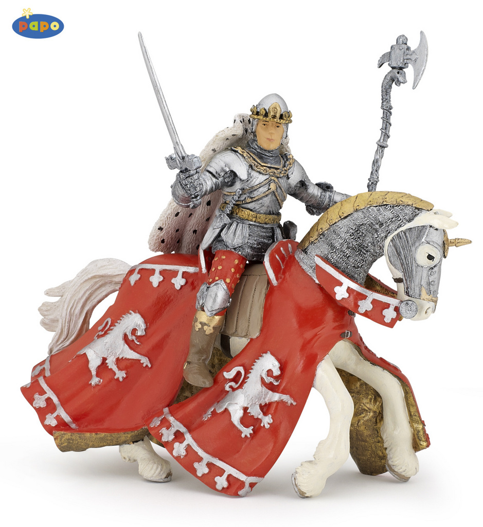 Kůň Prince Richarda červený