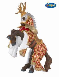 Obrázok Kůň rytíře Von Jelena červený