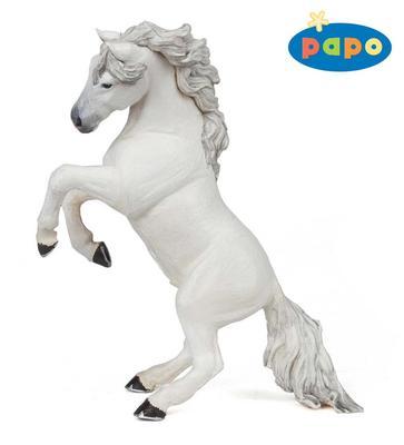 Obrázok Kůň vzepjatý bílý