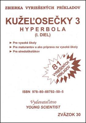 Obrázok Kužeľosečky 3 Hyperbola I.diel