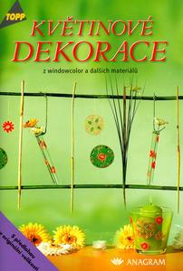 Obrázok Květinové dekorace z windowcolor a dalších materiálů