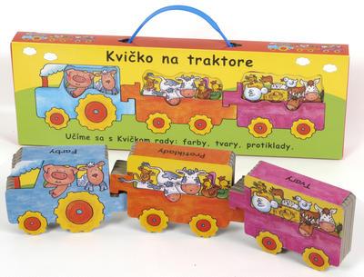 Obrázok Kvičko na traktore