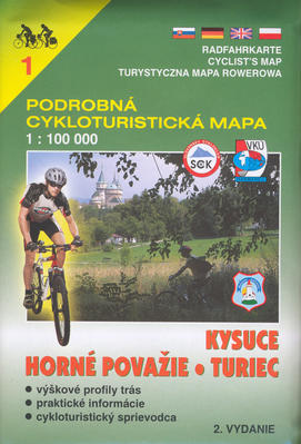 Obrázok Kysuce, Turiec, Horné Považie 1:100 000