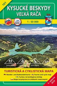 Obrázok Kysucké Beskydy Veľká Rača 1:50 000 (2018)
